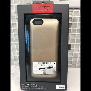 Tumi External Battery Case for iPhone 6 and 6s NEW
